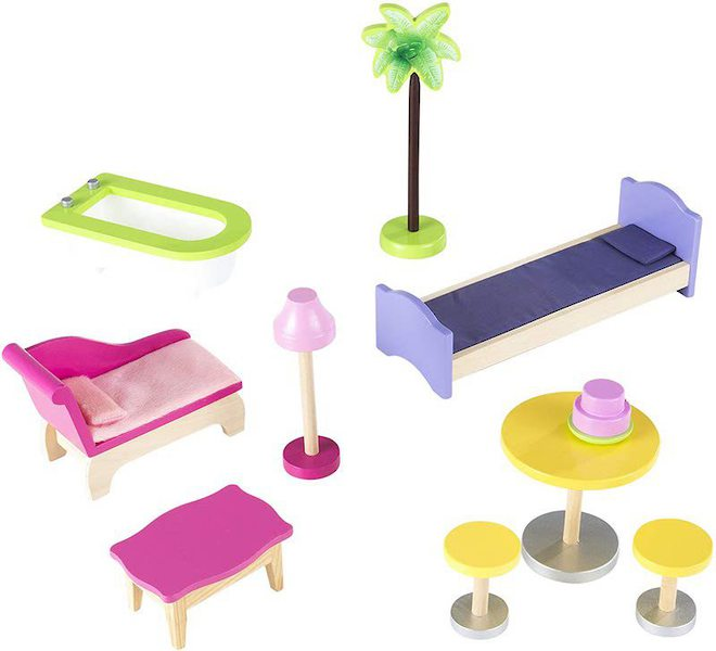 Kidkraft Kayla Dolls House - FREE DELIVERY - Pre-order now for late June delivery image 4