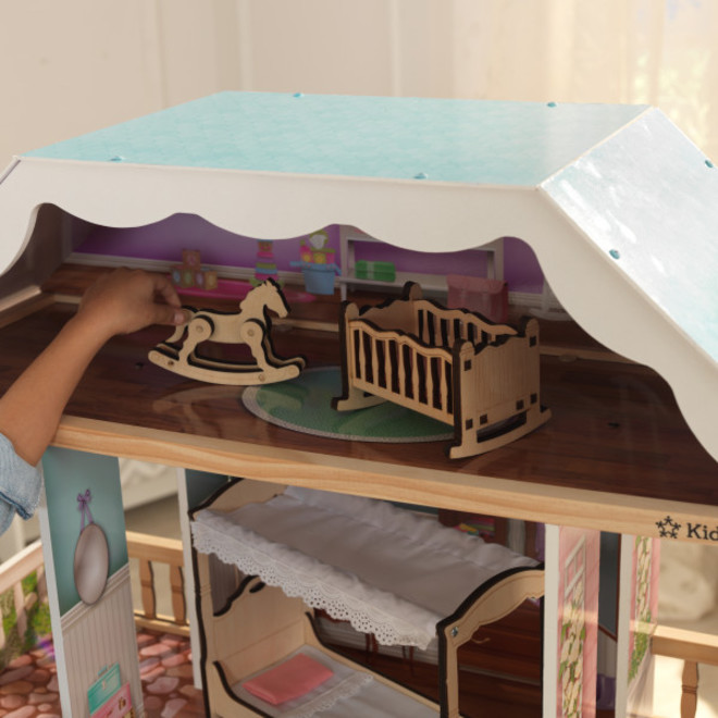Kidkraft Charlotte Dollhouse - FREE DELIVERY - Pre-order now from our next shipment due here 23rd September image 4