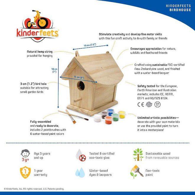 Kinderfeets Birdhouse image 2