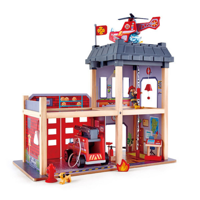 Hape City Fire Station - FREE DELIVERY image 0