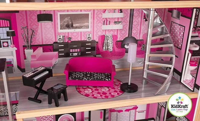 KidKraft Sparkle Mansion Dollhouse - FREE DELIVERY image 8