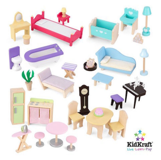 KidKraft Majestic Mansion Dollhouse - FREE DELIVERY - Pre-order now for late June arrival image 11