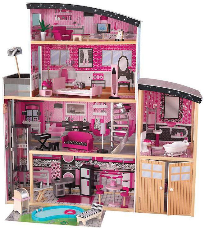 KidKraft Sparkle Mansion Dollhouse - FREE DELIVERY image 1