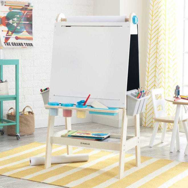 KidKraft Create N Play Art Easel - FREE NZ Delivery - Pre-order now from our shipment due to arrive here 30th June image 0