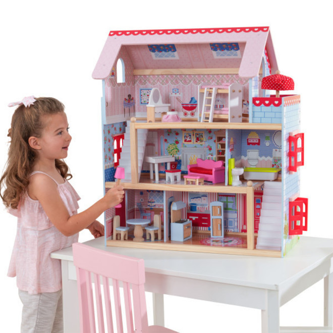 KidKraft Chelsea Doll Cottage - FREE DELIVERY - Pre-order now for late June delivery image 0