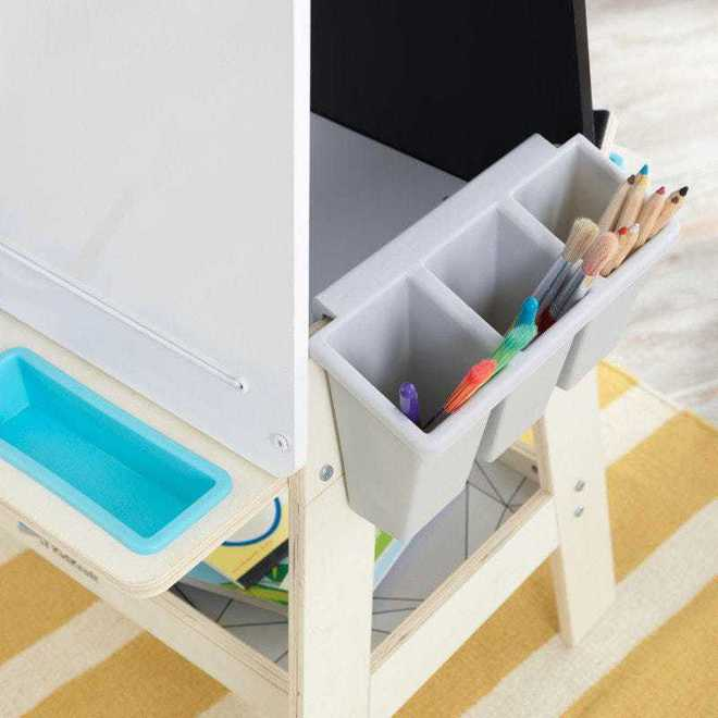 KidKraft Create N Play Art Easel - FREE NZ Delivery - Pre-order now from our shipment due to arrive here 30th June image 2