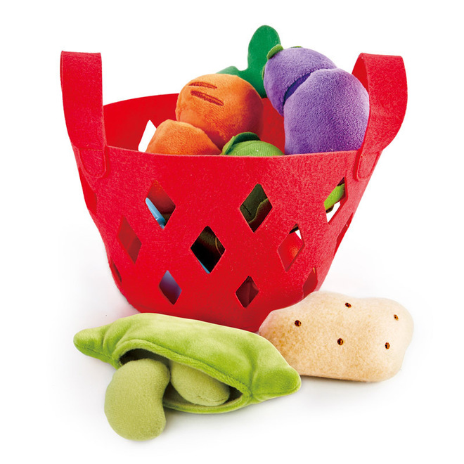 Hape Toddler Vegetable Basket image 1