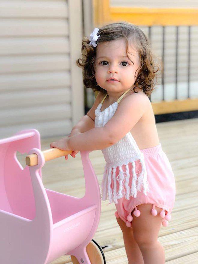 Moover Dolls Pram Pink - Free Delivery image 1
