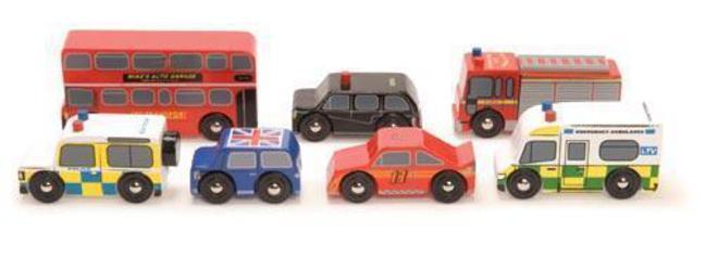 Le Toy Van London Car set image 0