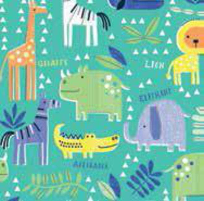 Free Gift Wrapping in Animals paper image 0