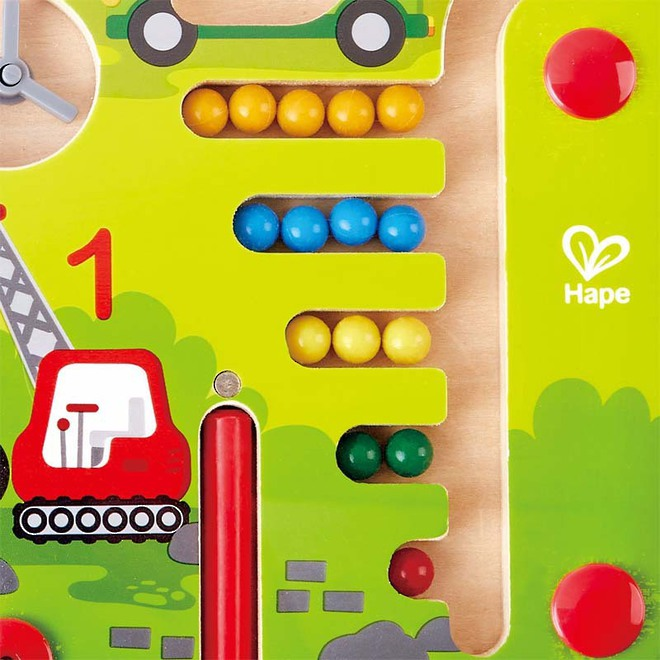 Hape Construction & Number Maze image 1