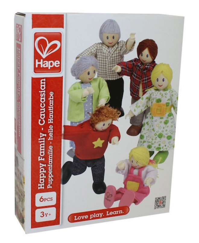 Hape Happy Family - Caucasian image 1