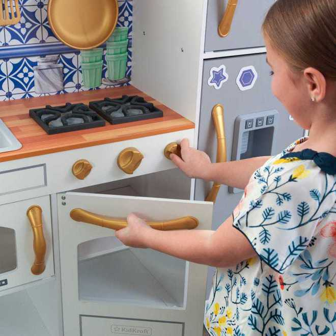 KidKraft Mosaic Magnetic Kitchen - Free NZ Delivery - Pre-order now from our shipment due early May image 9