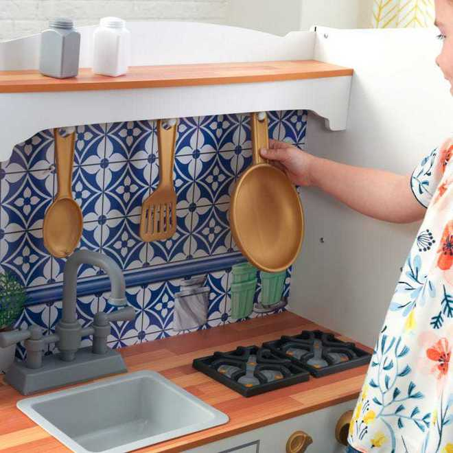KidKraft Mosaic Magnetic Kitchen - Free NZ Delivery - Pre-order now from our shipment due early May image 8