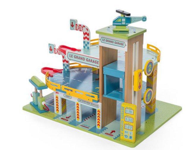 Le Toy Van Le Grand Garage image 1
