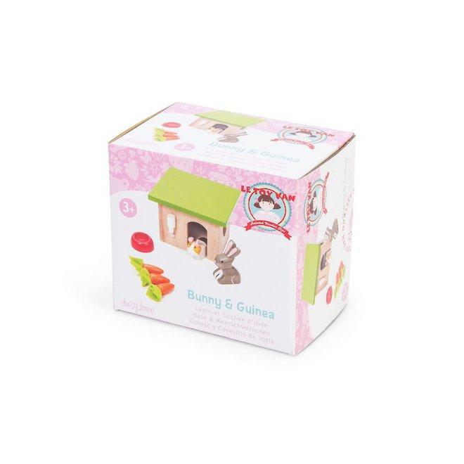 Le Toy Van Bunny & Guinea Pet Pals image 2