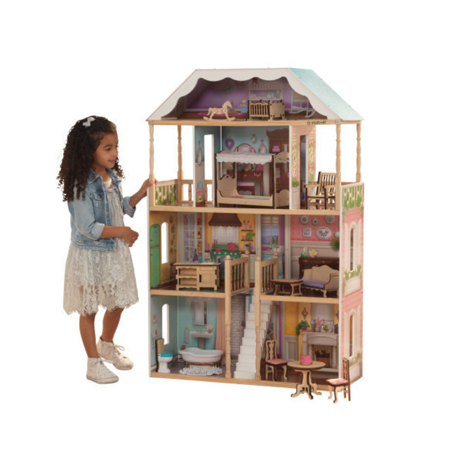 Kidkraft Charlotte Dollhouse - FREE DELIVERY - Pre-order now from our next shipment due here 23rd September image 1