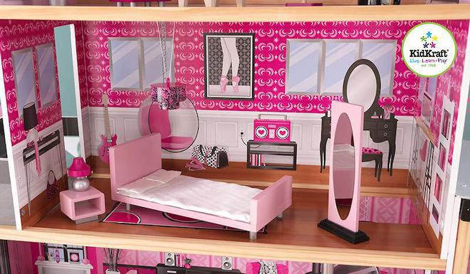 KidKraft Sparkle Mansion Dollhouse - FREE DELIVERY image 9