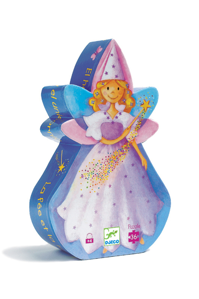 Djeco The Fairy and the Unicorn puzzle image 0