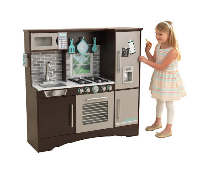 KidKraft Culinary Play Kitchen Espresso - FREE DELIVERY image 2