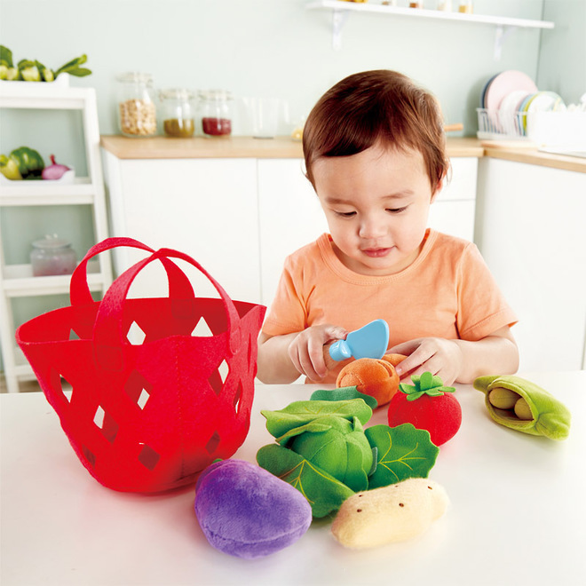Hape Toddler Vegetable Basket image 2
