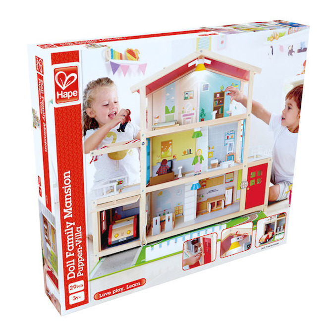 Hape Doll Family Mansion - FREE DELIVERY image 6
