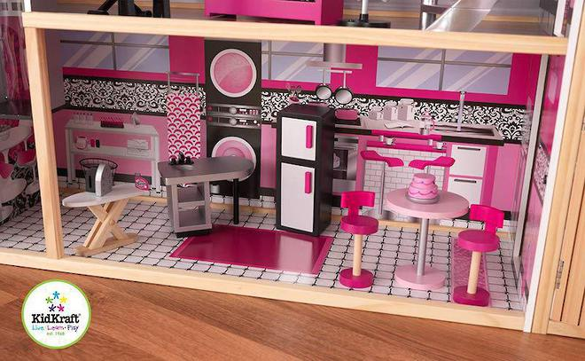 KidKraft Sparkle Mansion Dollhouse - FREE DELIVERY image 7