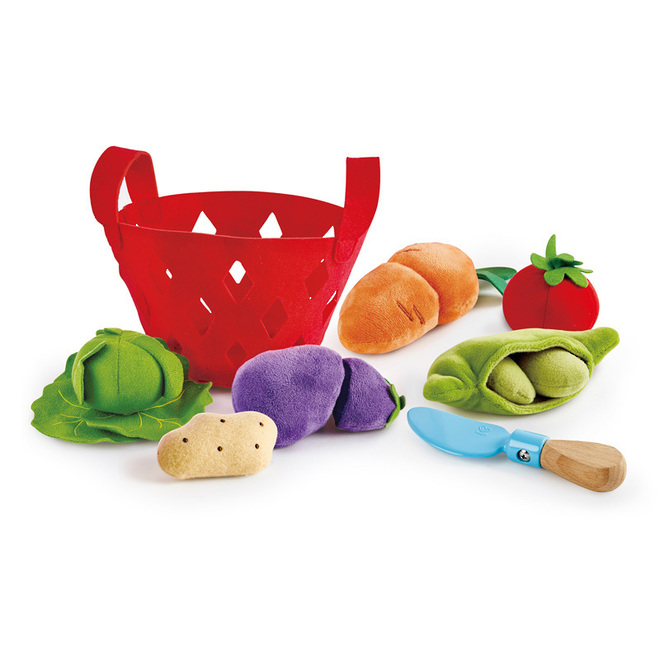 Hape Toddler Vegetable Basket image 0