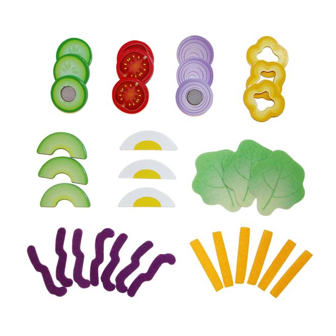 Hape Healthy Salad Playset image 2