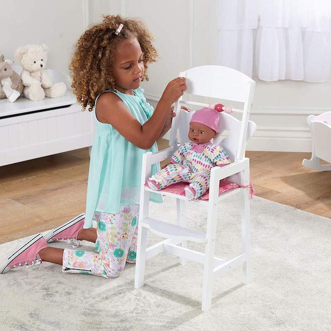 Kidkraft Lil Doll High Chair image 1