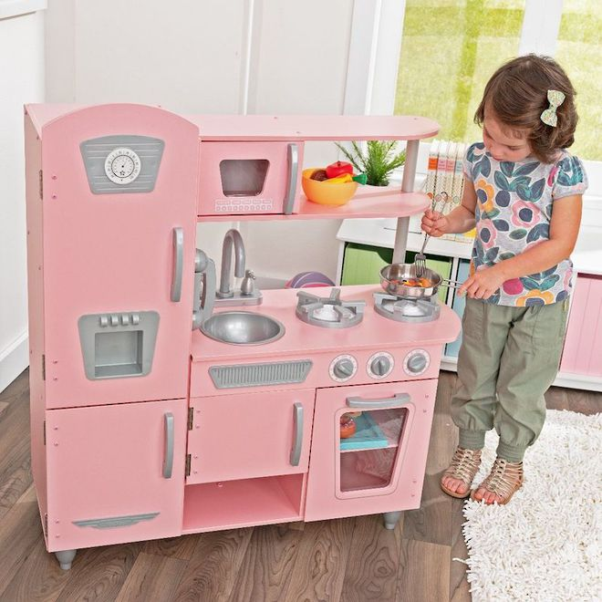 Kidkraft Pink Vintage Kitchen - FREE DELIVERY - Pre-orders accepted from the shipment due here early December image 7