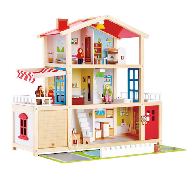 Hape Doll Family Mansion - FREE DELIVERY image 1