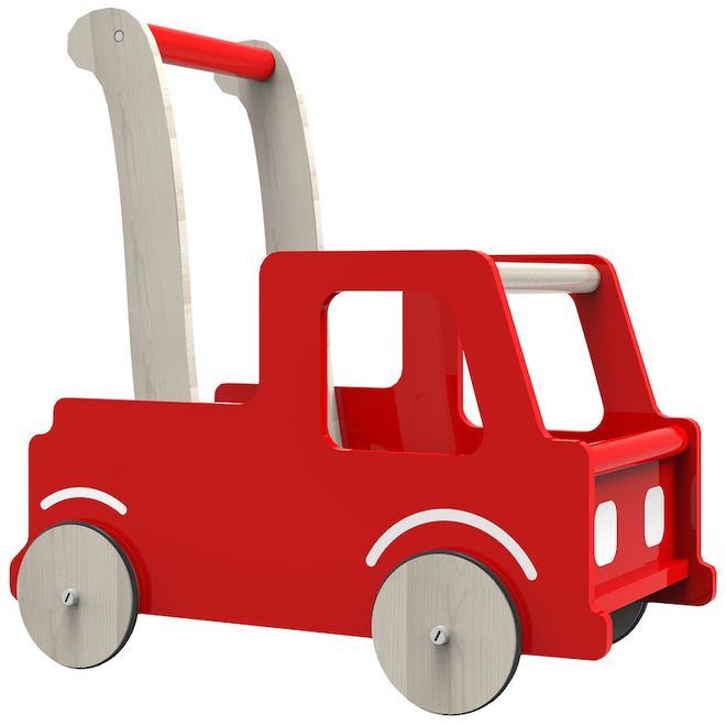 Moover Red Truck Walker image 0