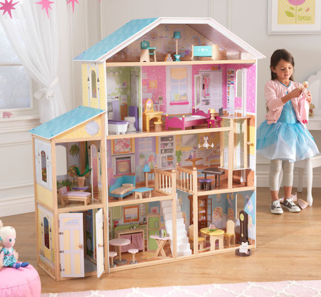 KidKraft Majestic Mansion Dollhouse - FREE DELIVERY - Pre-order now for late June arrival image 0