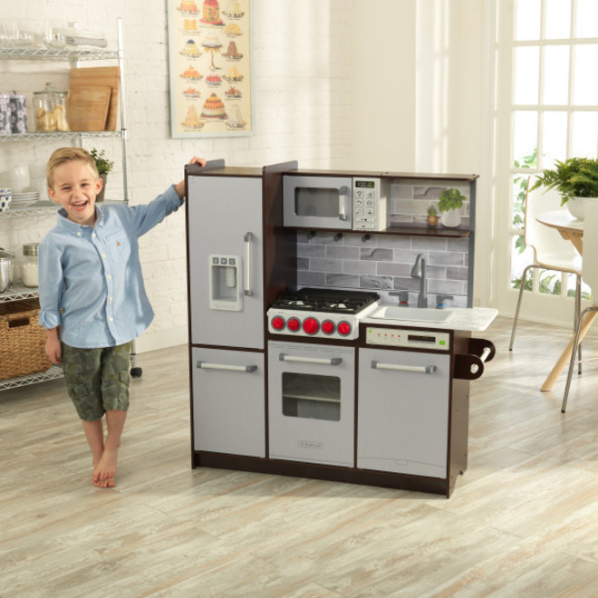 KidKraft Uptown Elite Espresso Play Kitchen - FREE DELIVERY - Pre Orders accepted from our shipment due end October image 7