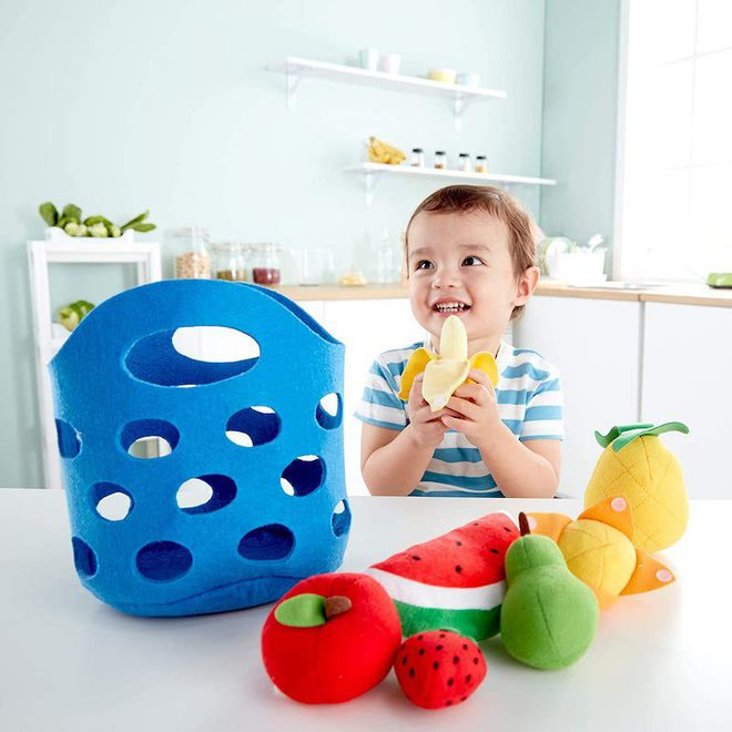 Hape Toddler Fruit Basket image 1