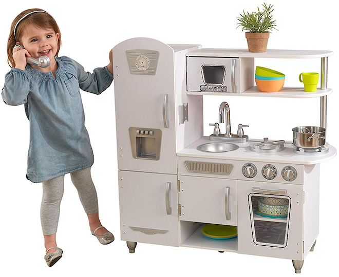 Kidkraft White Vintage Kitchen - FREE DELIVERY image 0