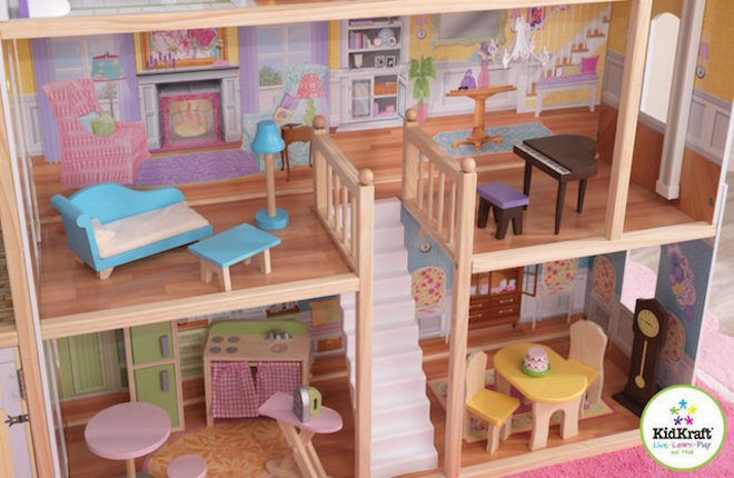 KidKraft Majestic Mansion Dollhouse - FREE DELIVERY - Pre-order now for late June arrival image 3