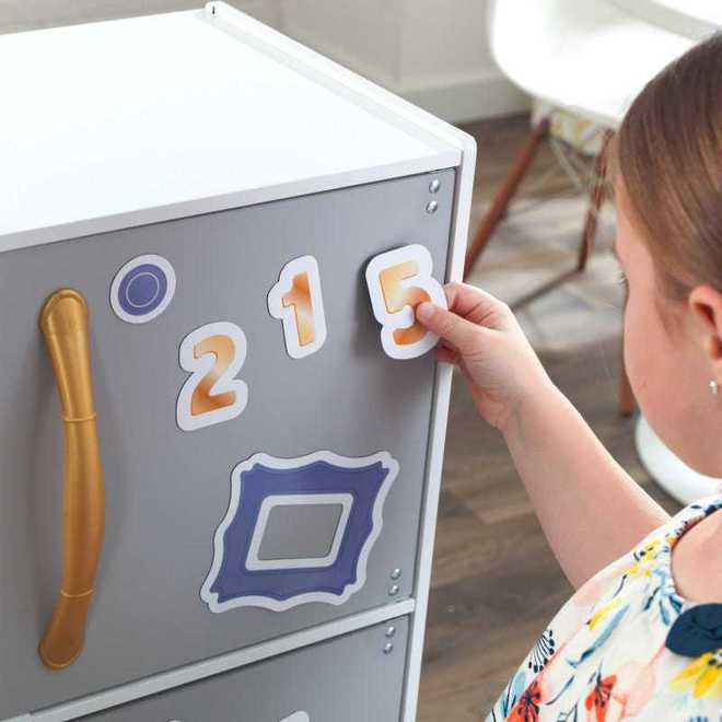 KidKraft Mosaic Magnetic Kitchen - Free NZ Delivery - Pre-order now from our shipment due early May image 4