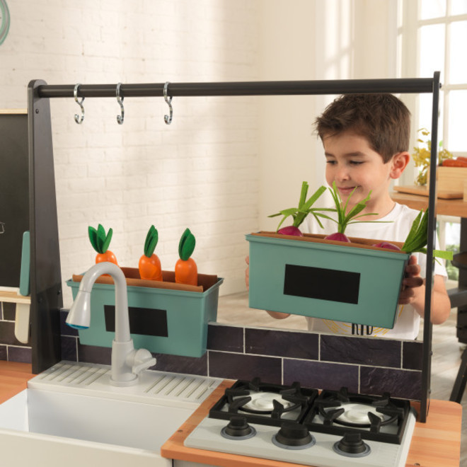 KidKraft Farm to Table Play Kitchen - FREE DELIVERY image 2