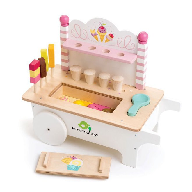 Tender Leaf Toys Ice Cream Cart - FREE DELIVERY image 0