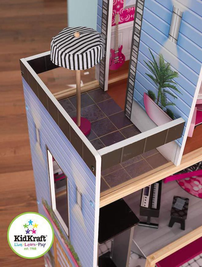 KidKraft Sparkle Mansion Dollhouse - FREE DELIVERY image 2