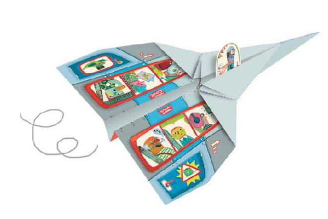 Djeco Origami Aircraft image 3