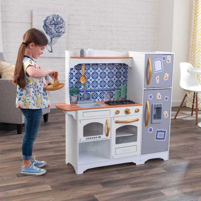 KidKraft Mosaic Magnetic Kitchen - Free NZ Delivery - Pre-order now from our shipment due early May image 0