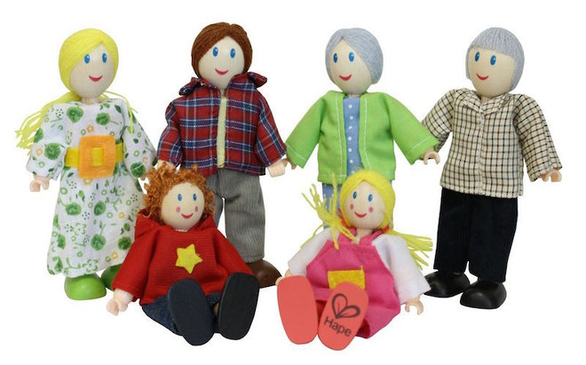 Hape Happy Family - Caucasian image 0