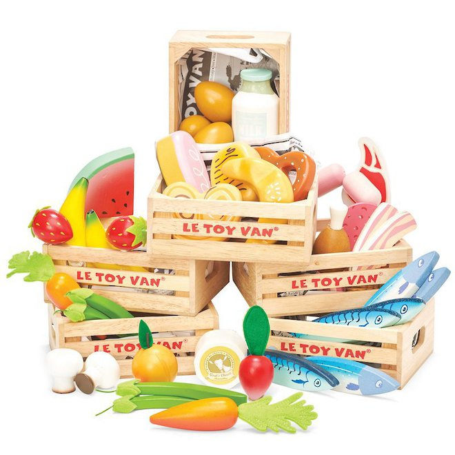 Le Toy Van Market Crate Bundle - FREE DELIVERY image 0