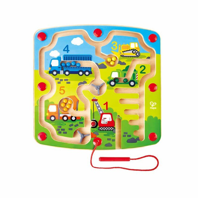Hape Construction & Number Maze image 0