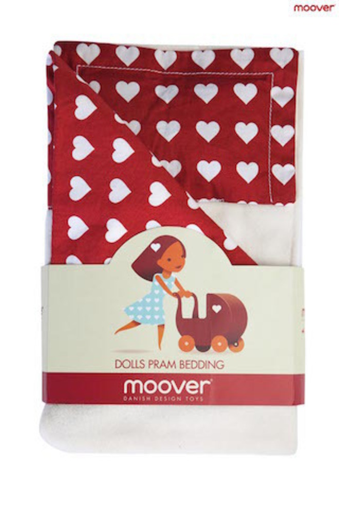 Moover Dolls Pram Bedding Red image 0