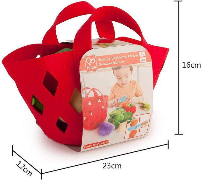 Hape Toddler Vegetable Basket image 4