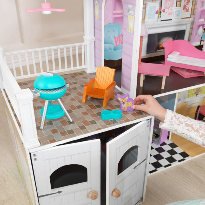 KidKraft Grand Estate Dollhouse - PICK-UP ONLY - Pre-orders accepted from our shipment due early May image 6